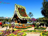 Da Lat - A climatic health resort in Central Highlands of Vietnam.